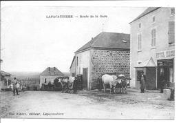 LA PACAUDIERE - Route De La Gare - La Pacaudiere