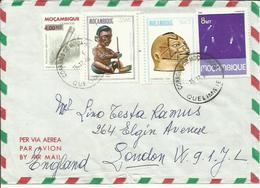 MOZAMBIQUI 1986 COVER TO UK - Mosambik