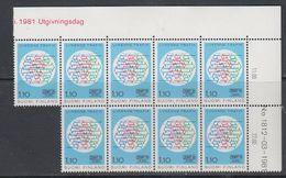 Finland 1981 ECMT 1v (9x) ** Mnh (47894) - Europese Gedachte