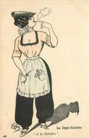 "F.LAFON (illustrateur) - La Jupe-culotte, ""à La Sébasto"", Paris,mode. - Other Illustrators"