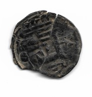 Denier Du Comté De Chartres, Trouvé En Jordanie - 476-1789 Period: Feudal