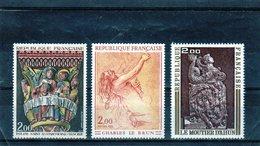 FRANCE    1973  Y.T. N° 1741  1742  1743  NEUF** - Francia