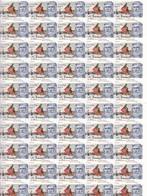 España Nº 5156 En Hoja De 50 Sellos - 1931-Tegenwoordig: 2de Rep. - ...Juan Carlos I