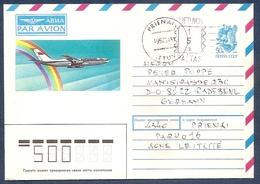 LITHUANIA 1992 January●Provisory Stationery Cover From Prienai To Germany - Lituania