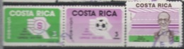 Costa Rica Used 1985 Football, Soccer, The 50th Anniversary Of Saprissa Football Club - Costa Rica
