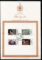 Ciskei Mi# 30-3 First Day Sheet - Fauna Mammals - Bophuthatswana