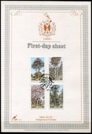 Ciskei Mi# 34-7 First Day Sheet - Flora Trees - Bophuthatswana