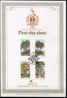Ciskei Mi# 52-5 First Day Sheet - Flora Trees - Bophuthatswana