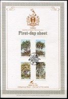 Ciskei Mi# 52-5 First Day Sheet - Flora Trees - Ciskei