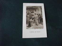 SANTINO HOLY PICTURE L'APPEL DE JESUS  BEUZON  4255 A. ROBLOT PARIS - Godsdienst & Esoterisme