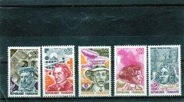 FRANCE    1973  Y.T. N° 1744  à  1748  NEUF** - Francia