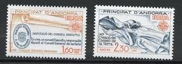 Andorre Français - Andorra 1982 Y&T N°300 à 301 - Michel N°321 à 322 *** - EUROPA - Andorra Francesa