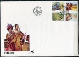 Ciskei Mi# 123-6 FDC - Folklore - Bophuthatswana