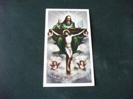 SANTINO HOLY PICTURE SANTISSIMA TRINITA' 2/256 - Godsdienst & Esoterisme