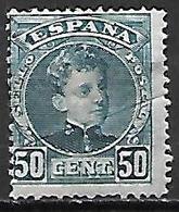 ESPAGNE.    1901 / 05     .Y&T N° 222 *.    Cote 42,00 Euros - Ongebruikt