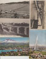 N 57  Lot 100 CPSM Différentes De Suisse - Postcards