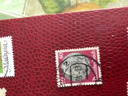 DEUTSCHE REICH SFONDO ROSSO IMPERATORE 1 VALORE - Stamps