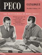 Catalogue PECO 1962 Streamline Tracks HO OO & OO Wagons - Boeken En Tijdschriften