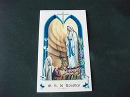 SANTINO HOLY PICTURE N. S. DI LOURDES  2/163 - Godsdienst & Esoterisme