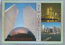 US.- NEW YORK CITY. THE TWIN TOWERS DOMINATE THE LOWER MANHATTAN SKYLINE - Manhattan