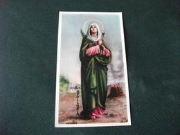 SANTINO HOLY PICTURE PREGHIERA A SANT'APOLLONIA  2/341 - Godsdienst & Esoterisme