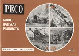 Catalogue PECO 1973 Gauge O OO 009 (HOe) N - Boeken En Tijdschriften