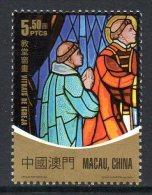 Macau Macao 1506 Aland , Vitrail , Christianisme - Emisiones Comunes