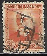 ESPAGNE   -   1931 / 34 .   Y&T N° 507A Oblitéré. - 1931-Tegenwoordig: 2de Rep. - ...Juan Carlos I