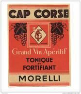Etiquette Cap Corse   -   Morelli - Etichette