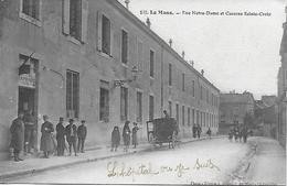 LE MANS - WW1 - RUE NOTRE DAME - HOPITAL TEMPORAIRE N° 16 EDIT. J. BOUVERET - POSTEE EN 1917 BONNE CORRESPONDANCE - Le Mans