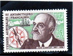 CG39 - 1961 Terre Antartiche Francesi - Jean Baptiste Charcot - Oceanografo Ed Esploratore - Polar Explorers & Famous People