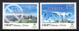 Macau Macao 1569/70 Lutte Anti-tabac - Drugs