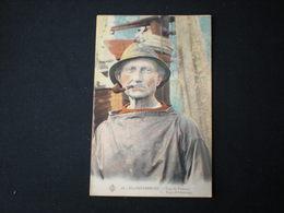 BLANKENBERGHE - PECHEUR AVEC PIPE - TYPE OF FISHERMAN - COLORISEE - Visvangst