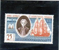 CG39 - 1960 Terre Antartiche Francesi - Yves Joseph De Kerguelen - Esploratore - Polar Explorers & Famous People