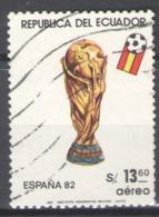 Ecuador Used 1981 Football, Soccer, World Cup - Spain 1982 - Ecuador