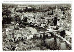 86 VIENNE MONTMORILLON Vue Générale Aérienne Le Nouveau Pont (pliure En Bas à Droite) - Montmorillon