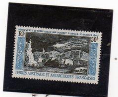 CG39 - 1965 Terre Antartiche Francesi - La Scoperta De4lla Terra Di Adelie - Dumont D'Urville - Esploratore - Polar Explorers & Famous People