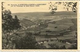 Panorama De MARCOURT-sur-OURTHE Et MARCOURAY Pris De L'Ermitage De Saint-Thibaut - N'a Pas Circulé-Les Editions Arduenna - Rendeux