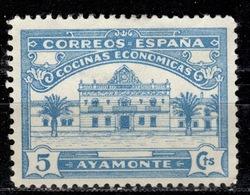 E+ Spanien 19zz Mi Zz Mng Ayamonte Cocinas Económicas GH - Spanje