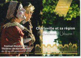 Charleville-Mézières Festival Mondial Des Théâtres De Marionnettes - Charleville
