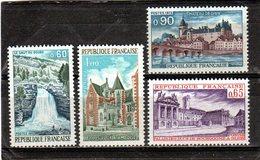 FRANCE    1973  Y.T. N° 1757  à  1759 + 1764  NEUF** - Francia