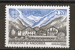 Andorre Français - Andorra 1986 Y&T N°348 - Michel N°369 *** - 2,20f EUROPA - Andorra Francesa