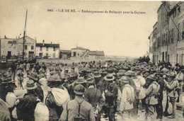 L'ILE De RE Embarquement De Relégués Pour La Guyane   RV - Ile De Ré