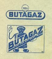 OMSLAG 1952 :  VAN  HOUTTE - DUYCK   GENT.  Reclame : BUTAGAZ. - Stamped Stationery