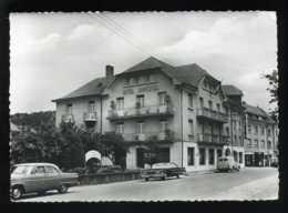 LUXEMBOURG - ECHTERNACH - HOTEL UNIVERSEL ET CHEVAL BLANC, PROPRIETAIRE L. KNEPPER - AUTOMOBILES - Echternach