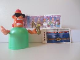 Kinder Surprise Deutch 1997 : N° 639346 + BPZ + Stickers - Mountables