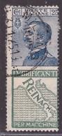 Regno, 25 Centesimi Pubblicitario Reinach Usato -CT43 - 1900-44 Vittorio Emanuele III