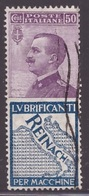 Regno, 50 Centesimi Pubblicitario Reinach Usato -CT46 - 1900-44 Vittorio Emanuele III