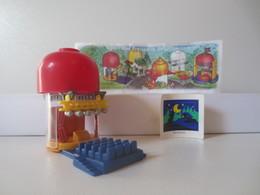 Kinder Surprise Deutch 1997 : N° 632104 + BPZ + Stickers - Mountables