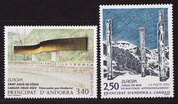 Andorre Français - Andorra 1993 Y&T N°430 à 431 - Michel N°451 à 452 *** - EUROPA - Andorra Francesa